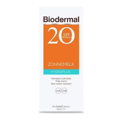 Biodermal Hydra plus zonnemelk SPF20