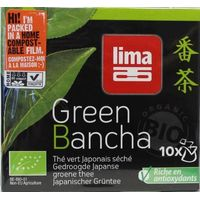 Lima Green bancha thee builtjes