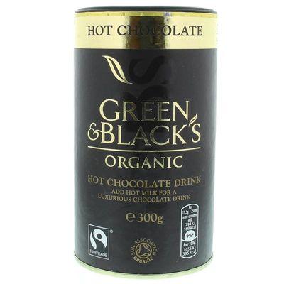 Green & Black Hot chocolate