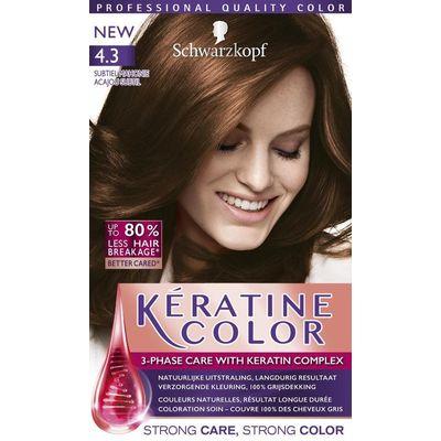 Schwarzkopf Keratine Color Haarverf 4.3 Subtiel Mahonie