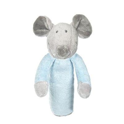 Teddykompaniet Floppy rammelaar blauwkleur