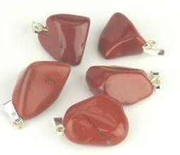 Steengoed Jaspis rood hanger