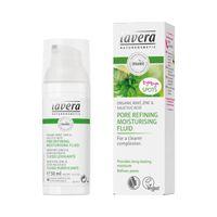 Lavera Moisturizing fluid pore refining organic mint
