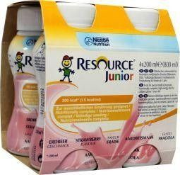 Resource Junior aardbei 200 ml
