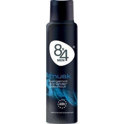 8X4 Deodorant spray men markant