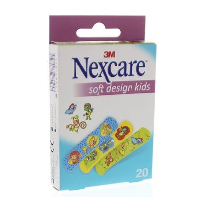 Nexcare Soft assorti pleisters kids