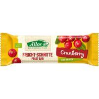 Allos Vruchtenreep cranberry
