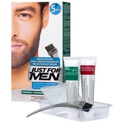 Just For Men Snor en baard middenbruin m35