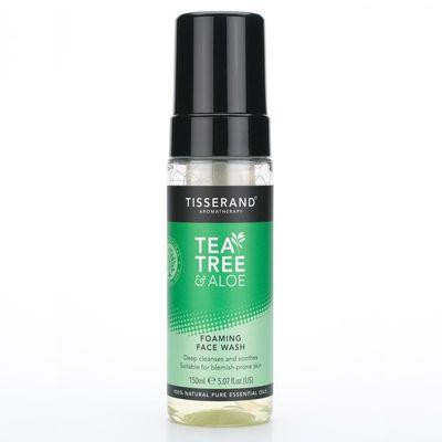 Tisserand Foaming face wash tea tree aloe vera