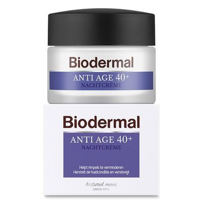 Biodermal Nachtcreme anti age 40+