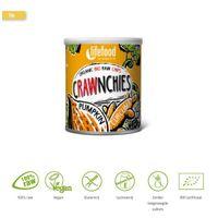 Lifefood Crawnchies stapelchips pompoen kurkuma raw & bio