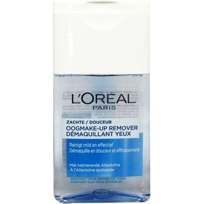 Loreal Zachte oogmake-up remover