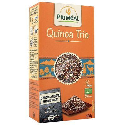 Primeal Quinoa trio white red black