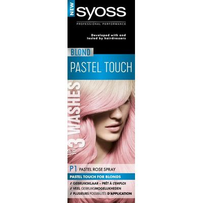 Syoss Color Blond Pastel Touch P1 pastel rose spray