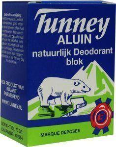 Tunney Aluin deodorant blok