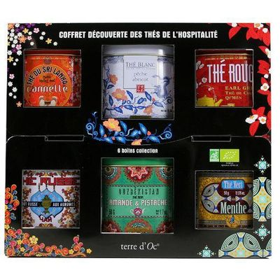 Terre Doc Thee giftset 6 x 50 gram