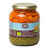 Ekoland Doperwten zeer fijn wortel extra fijn
