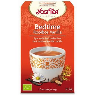 Yogi Tea Bedtime rooibos vanille