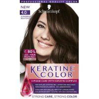Schwarzkopf Keratine Color Haarverf 4.0 Donkerbruin