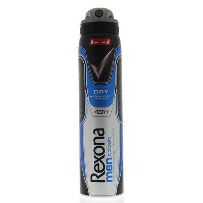 Rexona Deodorant spray dry cobalt for men
