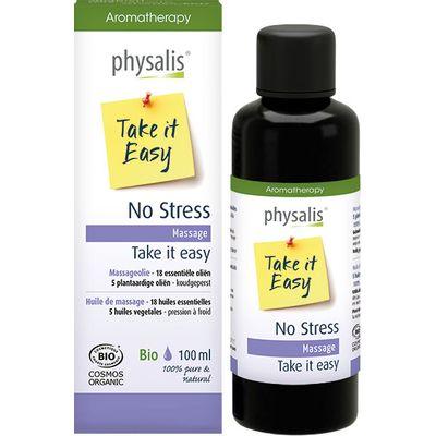 Physalis Massageolie no stress bio