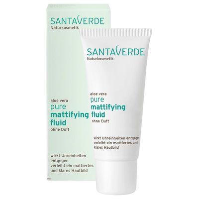 Santaverde Pure matterende creme zonder parfum bio