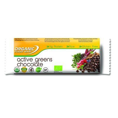 Organic Food Bar active greens chocolade