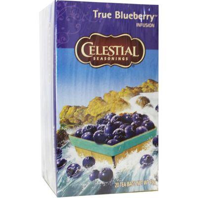 Celestial Season True blueberry herb tea