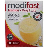 Modifast Intensive milkshake banaan 9 stuks