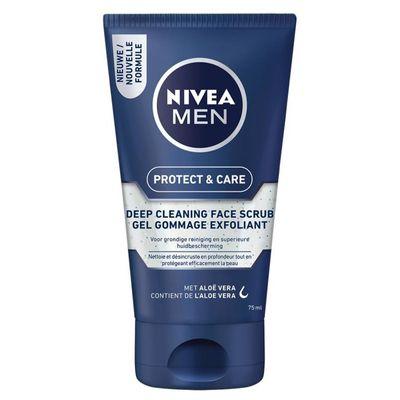 Nivea Men deep clean face scrub