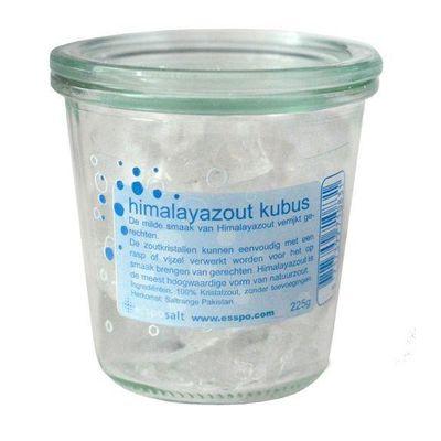 Esspo Himalayazout kubus raspkristallen