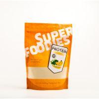 Superfoodies Gefermenteerde bruine rijst eiwitpoeder banaan