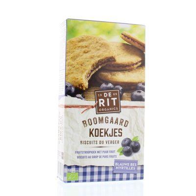 De Rit Boomgaard koekjes blauwe bes