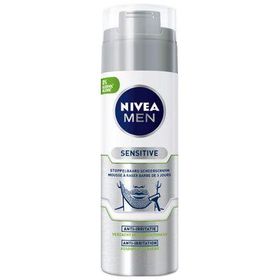 Nivea Men sensitive skin & stub shaving foam