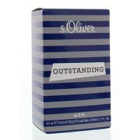 S Oliver Man outstanding eau de toilette spray