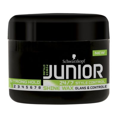 Junior Power Haar wax shine level 1