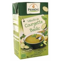 Primeal Veloute soep courgette basilicum