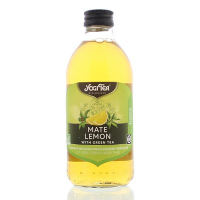 Yogi Tea Cold tea mate lemon