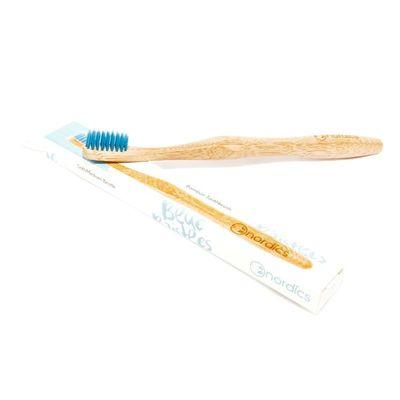 Nordics Tandenborstel bamboe blauw