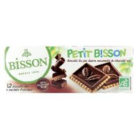 Bisson Theebiscuit pure chocolade