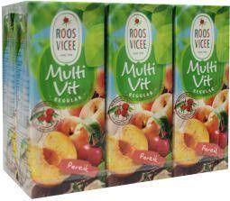 Roosvicee Multivit perzik mini 200 ml