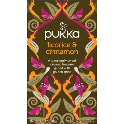 Pukka Org. Teas Licorice & cinnamon thee