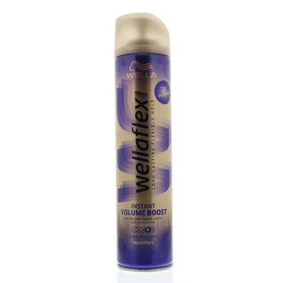 Wella Flex hairspray volume boost strong hold