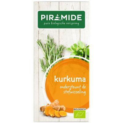 Piramide Kurkuma thee