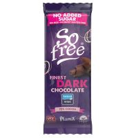So Free chocolade snack reep 72% cacao zonder suiker