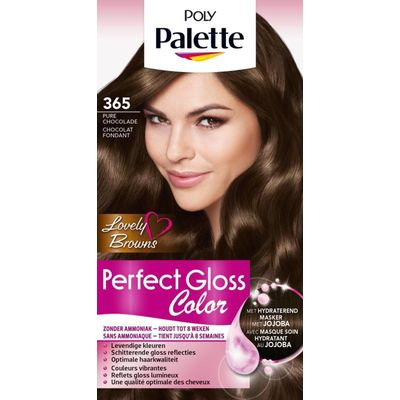 Poly Palette Perfect Gloss Haarverf 365 Chocolade