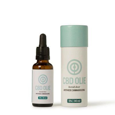 Clinical Cannabi CBD 5% olie