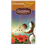 Celestial Season Coconut zinger tea