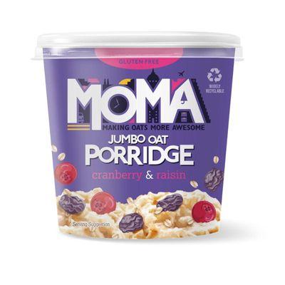 Moma Cranberry & raisin porridge