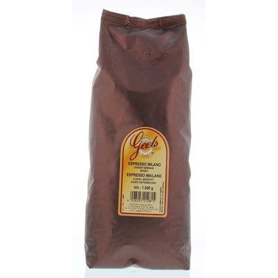 Geels Espresso milano donkere bonen